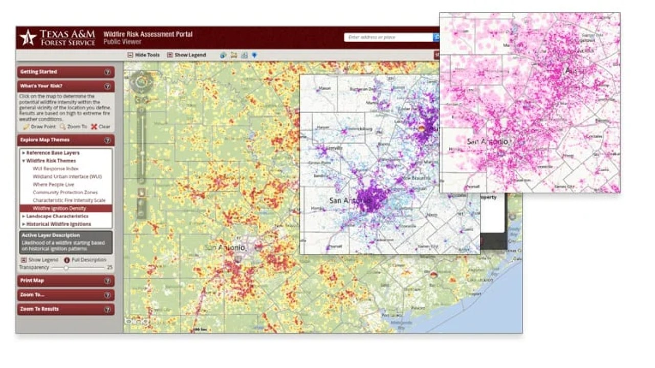 How Texas Is Using Geospatial Technologies To Mitigate Forest