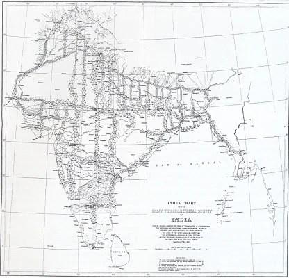The Great Trigonometrical Survey India 1870 (Daniel Fernández Pascual Great Trigonometrical Survey of India 2012)