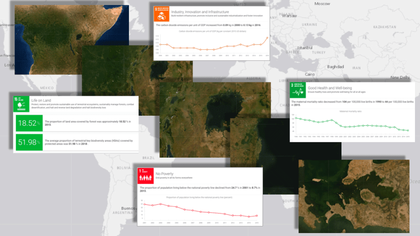 The new initiative, called Data for Now, will see the linkage of Google Earth satellite data with UN data.