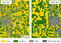 Mapping Crops: Filling in Data Gaps with Landsat Archives