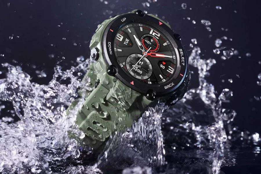 Amazfit T-Rex: Durable smart watch with Casio G-Shock look