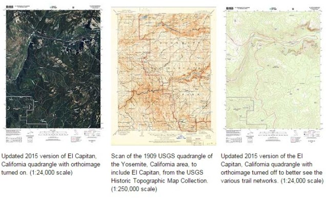 US Topo maps for california