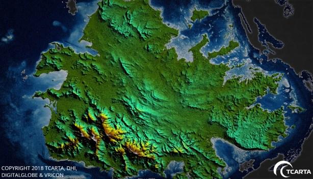 Sea Floor Surface Models