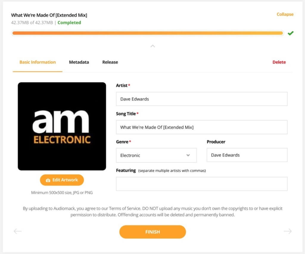 How To Increase Audiomack streams