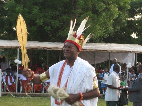 BIAFRA ALERT: Nnamdi Kanu And Ipob Cannot Stop Anambra Election-Angry Obi Of Onitsha Blows Hot