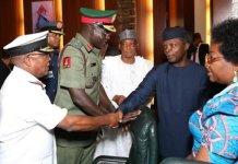 Osinbajo Orders Service Chiefs To Relocate To Maiduguri
