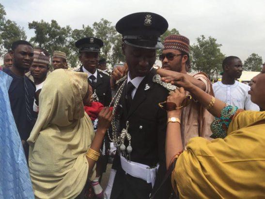 Jubliation In Kano As Emir Of Kano, Sanusi Lamido Sanusi's First Son Becomes A Policeman [Photos]