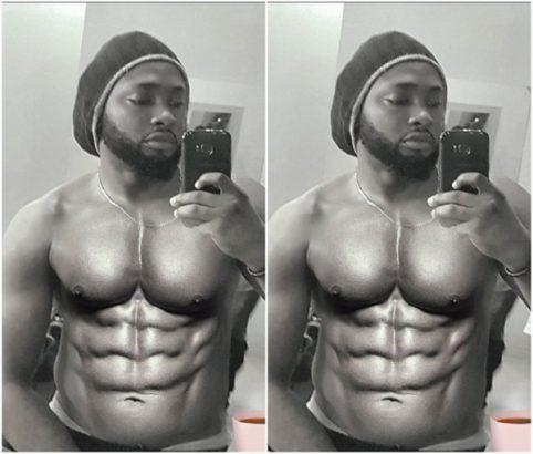 Uti Nwachukwu Shows Off His Hot Body In New Photo