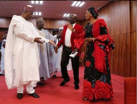 Kogi Best Senator, Dino Melaye Spotted In Red And White On Valentine's Day