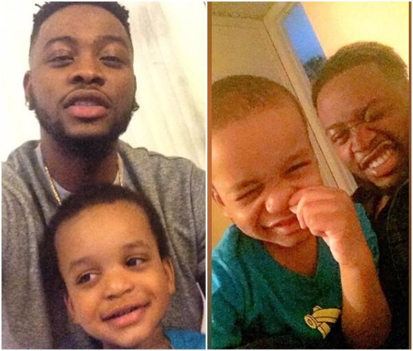#BBNaija2018: Beautiful Photos of Bbnaija Teddy A's Baby Mama And Son [Photos]
