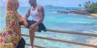 Juliet Ibrahim and Iceberg Slim On Romantic Vacation In Sao Tome Island [Photos]