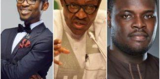 JJ Omojuwa and Chude Jideonwo Who Helped to Bring Buhari Into Power, Attacks Him