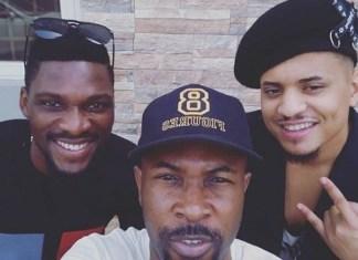 New Photo Of Rapper, Ruggedman With Bbnaija Stars, Tobi And Rico Swavey