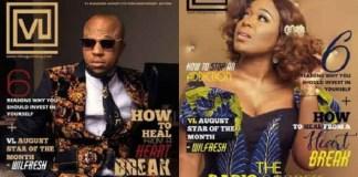 Moet Abebe and Charles Okocha Graces Cover Of VL Magazine Latest Issue [Photos]