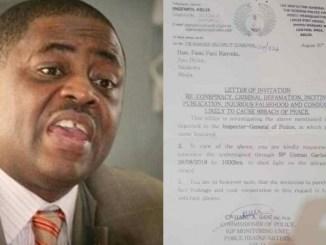 Femi Fani-Kayode Writes IG f police Over Police Summons