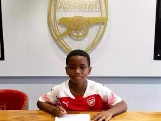 Meet Jayden Adetiba, 9-Year-Old Nigerian Wonder Kid, Signed By Arsenal Football Club