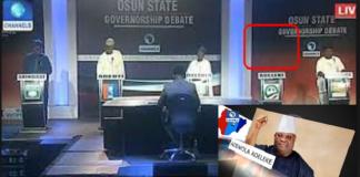 Davido's Uncle, Sen. Adeleke Absent at Osun Governorship Debate