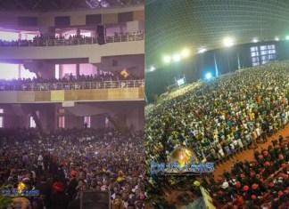 World Largest Church Auditorium, Owned by Dunamis International Gospel Center, Dedicated in Abuja [Photos]