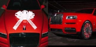 Gucci Mane Buys His Wife Keyshia Ka'Oir a 2019 Rolls Royce Cullinan