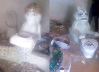 Ritualists Den Uncovered In Ekiti [Photos]