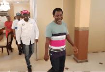 Lagos APC Guber Candidate Babajide Sanwoolu Secretly Visits Prophet TB Joshua For Prayers