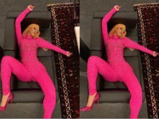 Cardi B Shares the Inspiration behind Her Pose [Photos]