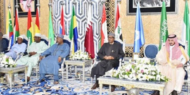 More Photos of President Buhari as He Lands Jeddah, Saudi Arabia