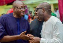 Oshiomhole and Ize-Iyamu Begs Gov. Obaseki after Supreme Court Victory