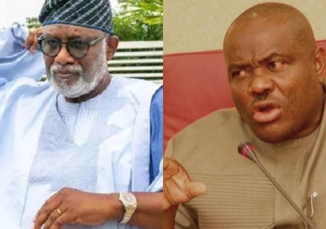 """Godfathers Are Not Allowed In Ondo"" ̶ Akeredolu Warn Wike Ahead Of Election"
