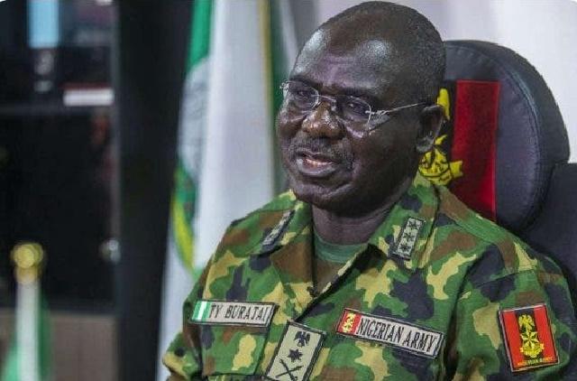 """Soldiers Were Only Ensuring Curfew Compliance"" Buratai on Lekki Shooting"