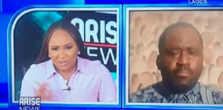 Video of Desmond Elliot Weeping on Live TV Following Backlash [video]
