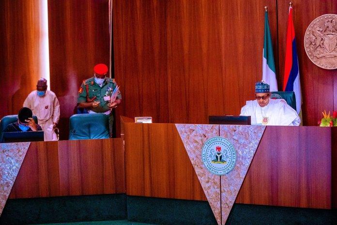 Buhari Presides Over FEC Meeting, Honors Late Ministers