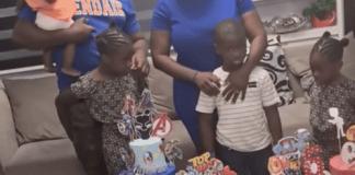 Mercy Johnson Celebrates son, Henry Okojie on His 6th Birthday (Video