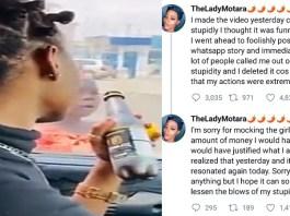 Influencer Apologize After Video Mocking Child Beggar Goes Viral