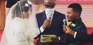 More Photos from Nigerian Actor, Samuel Ajibola 'Spiff' and Sandra's White Wedding