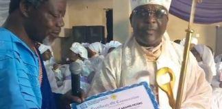 Veteran Musician, Sir Shina Peters Ordained As Bishop (Video)