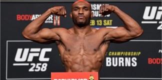 Kamaru Usman Knocks Out Gilbert Burns at UFC 258