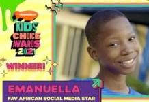Kids Choice Awards 2021:Emmanuella Emerged winner