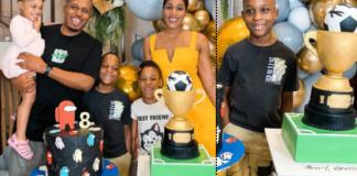 Naeto C Celebrates Son's Birthday as He Shares Adorable Photos