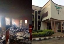 Abakaliki: Hoodlums Burn Federal High Court, Injure Security Guards