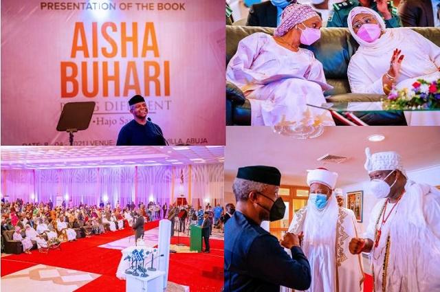 Aisha Buhari's Book Launch: Full List of Donations Made as Dangote and Tinubu Gives N50m