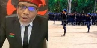 MASSOB Leader Embraces Ebubeagu as He Blasts IPOB's ESN