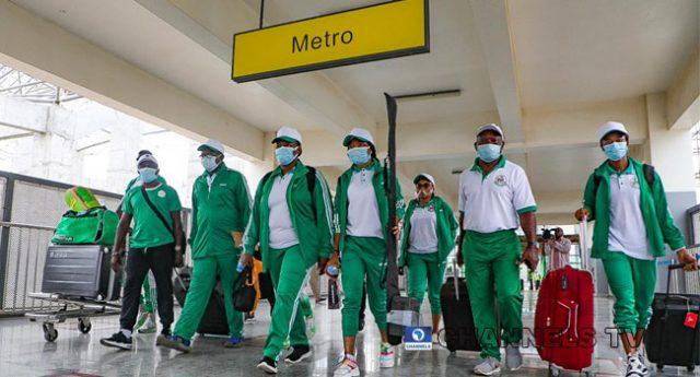 Team Nigeria Heads To Tokyo Olympics