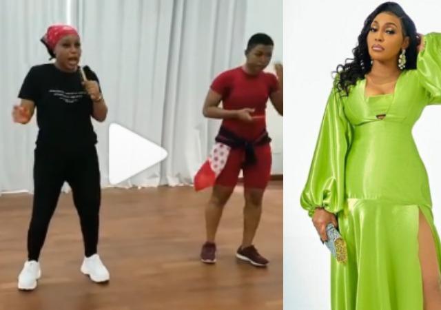 BBNaija: Rita Dominic Shares a Throwback Rehearsal Video with Liquorose