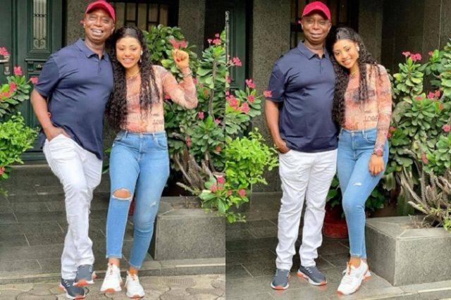 I love His Legs – Regina Daniels Says as She Gushes over Her Husband Ned Nwoko