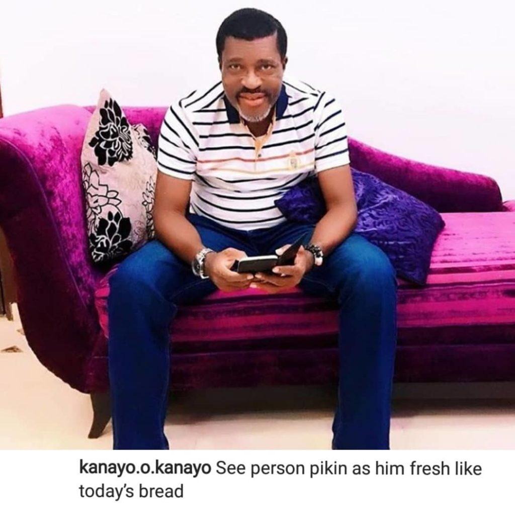"""""""See Person Pikin As Him Fresh Like Today's Bread"""" – Kanayo O. Kanayo Says"""