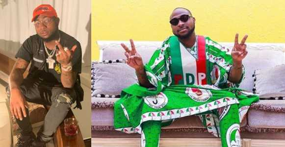 Davido reveals that he has been getting threats over his political ambition