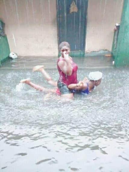 Ekiti slay queens, flood