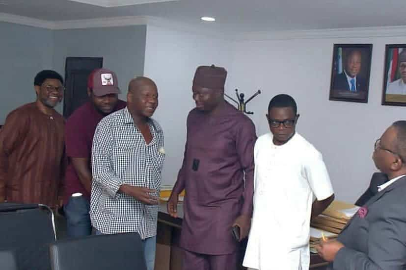 5c91069d91947 - [Pictures]: Minister For Health, Prof. Isaac Adewole, Hosts Baba Suwe