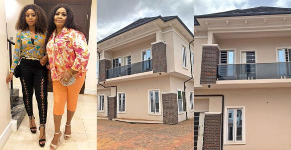 Image result for regina daniels buys house